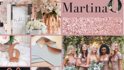 Rose gold wedding tips. Wedding planning ireland