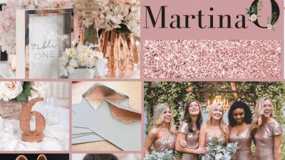 Rose gold wedding tips. Wedding planning ireland