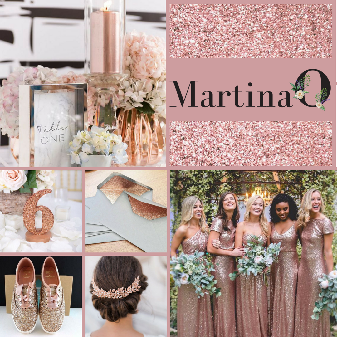 Rose Gold Wedding Decor Is Here To Stay Wedding In Ireland