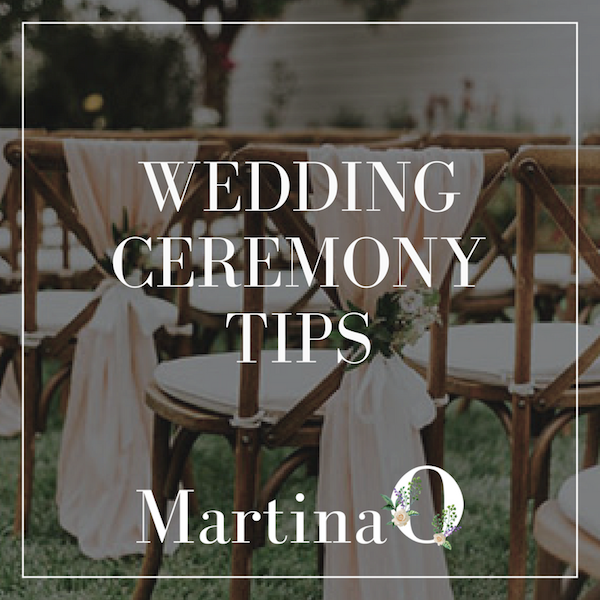 wedding ceremony tips - wedding venue