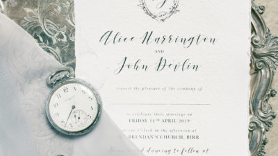 Wedding Stylist in Ireland - Wedding Invite